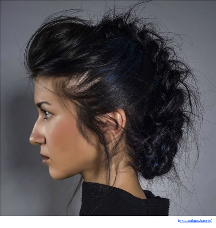 Stylenoted | The Most Versatile Updo: The Fancy Mohawk With Versatile Mohawk Hairstyles (View 15 of 25)