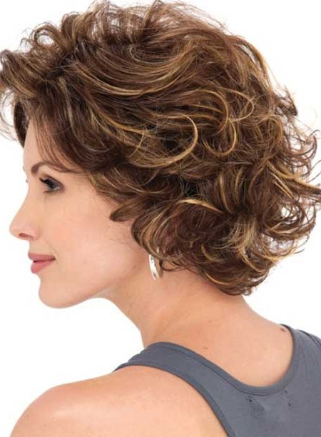 Stylish Layered Hairstyle Ideas For Curly Hair 2019 | Hairstyles For Regarding Most Popular Curly Layered Bob Hairstyles (View 3 of 25)
