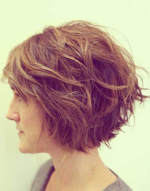 Stylish Tousled Bob Hairstyle | Styles Weekly With Regard To Current Layered Tousled Bob Hairstyles (View 12 of 25)