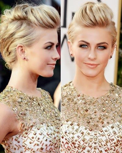 Stylist Secrets To Our Favorite Celebrity Updos | Updos | Pinterest Within Retro Pop Can Updo Faux Hawk Hairstyles (View 15 of 25)