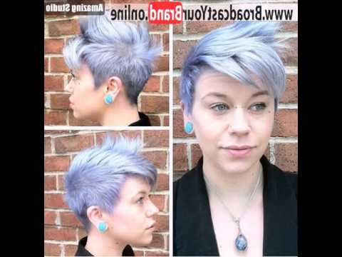 Featured Photo of Sweet Tart Peaked Faux Hawk Hairstyles
