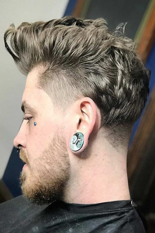 Taper Fade Haircuts For Your Image And Your Lifestyle | Menshaircuts Regarding Voluminous Tapered Hawk Hairstyles (View 16 of 25)