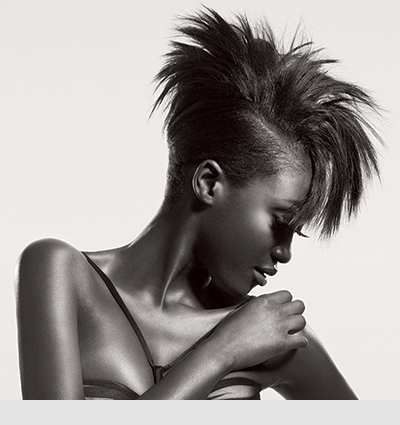 Textures & Trends: Spiky Relaxed Mohawk Regarding Spikey Mohawk Hairstyles (View 21 of 25)