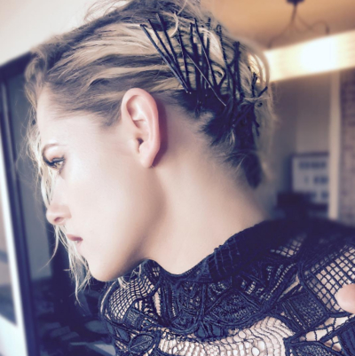 The 13 Best Updos For Short Hair – Glamour Intended For Glamorous Mohawk Updo Hairstyles (View 18 of 25)