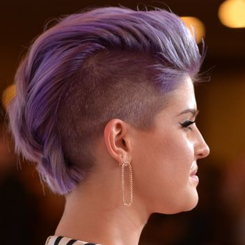 The 5 Most Awesome Hair, Makeup, And Nail Looks Of The Week Intended For Extravagant Purple Mohawk Hairstyles (View 7 of 25)