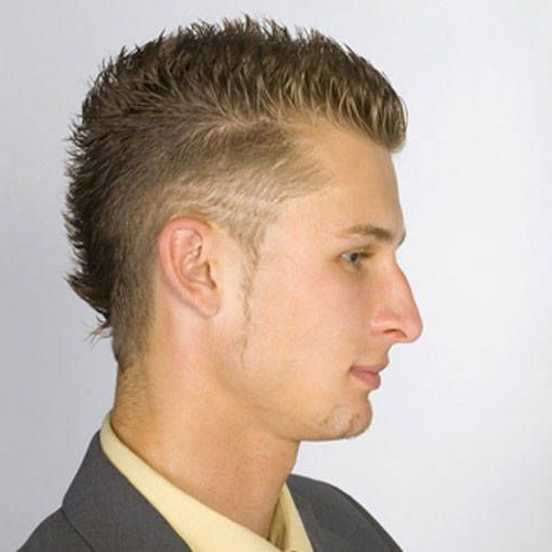 The Fauxhawk Is The New Mullet / Euro Trash! | Hair Styles Regarding Thrilling Fauxhawk Hairstyles (View 20 of 25)