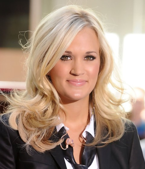 The Life Of Carrie Underwood's Hair | (View 19 of 25)