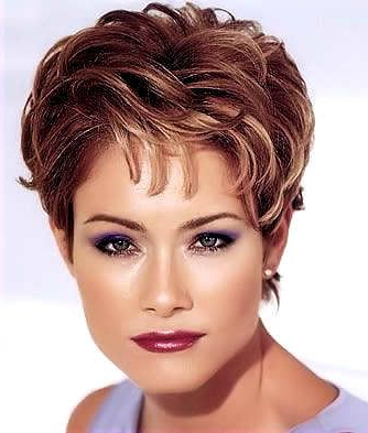 This Is A Very Unique Short Hairstyle That Provides Height And For Latest Layered Haircuts With Cropped Locks On The Crown (View 24 of 25)