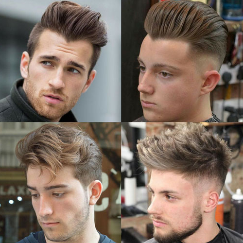 Top 25 Layered Haircuts For Men (2019 Guide) For Most Popular Bob Haircuts With Symmetrical Swoopy Layers (View 24 of 25)