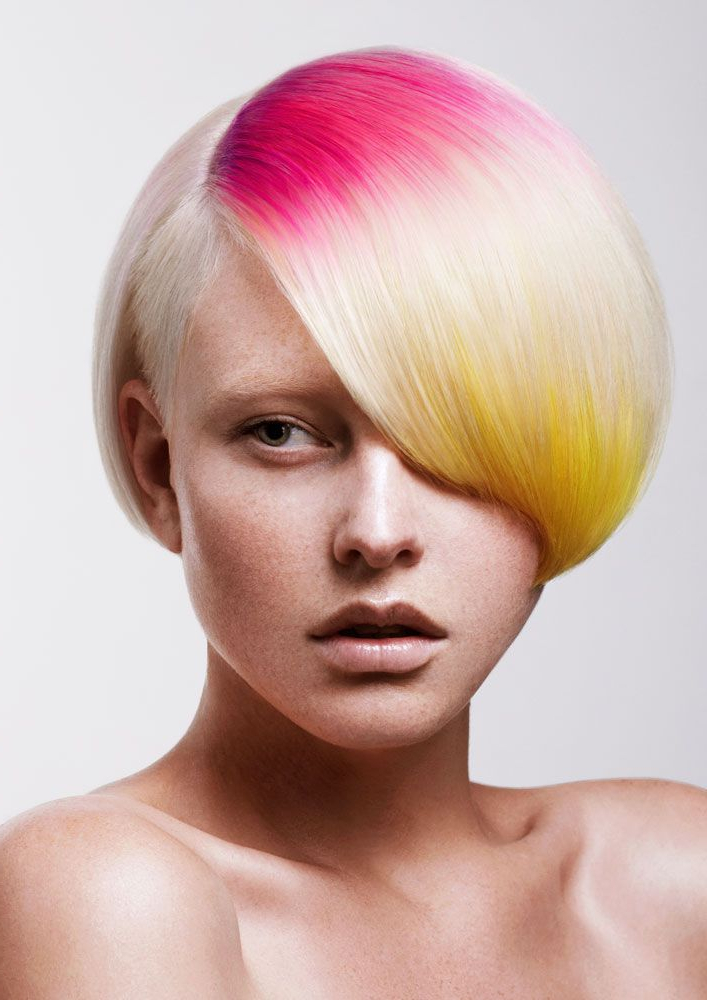 Tracey Hughes' Whisper Soft Styles – Inspiration | Creative/fashion With Mohawk Hairstyles With Vibrant Hues (View 12 of 25)