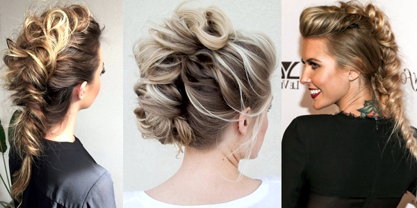 Trendy Mohawk Updos! – The Haircut Web Inside Cool Mohawk Updo Hairstyles (View 5 of 25)