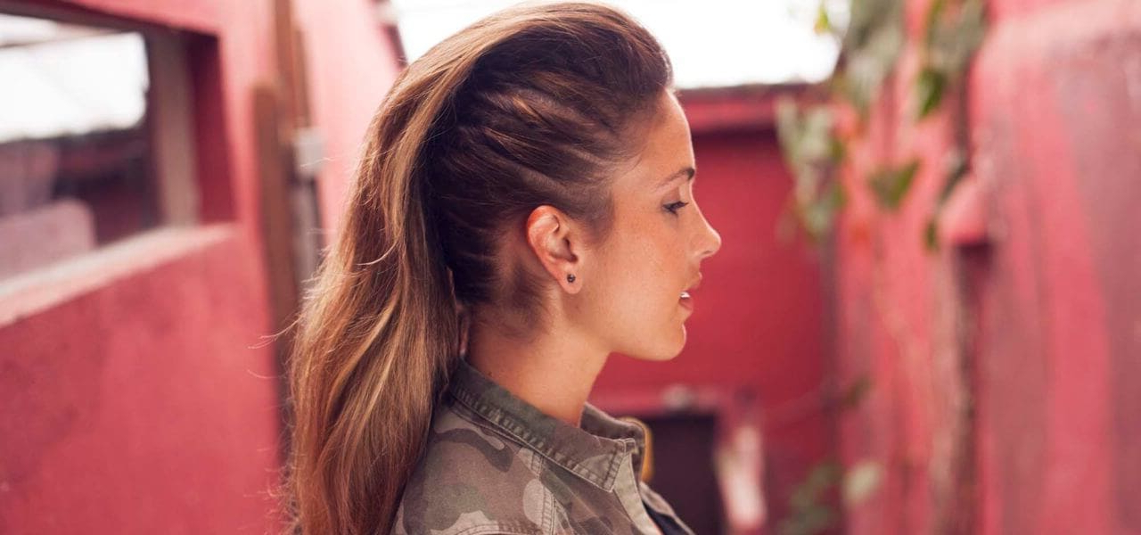 Tutorial: How To Create A Women's Fauxhawk On Long Hair With Messy Fishtail Faux Hawk Hairstyles (View 18 of 25)