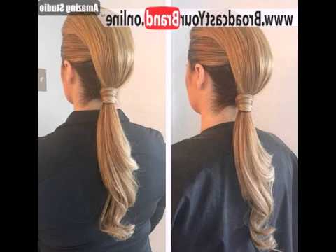 Two Trick Ponytail Faux Hawk – Youtube With Regard To Two Trick Ponytail Faux Hawk Hairstyles (View 3 of 25)