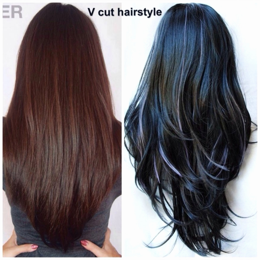 Undercut Hairstyle With Longer Layers At The Top Long Layered Intended For Best And Newest V Cut Layers Hairstyles For Thick Hair (View 18 of 25)