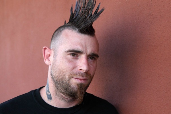 Using Glue To Make A Mohawk With Spikes | Thriftyfun Regarding Steel Colored Mohawk Hairstyles (View 14 of 25)