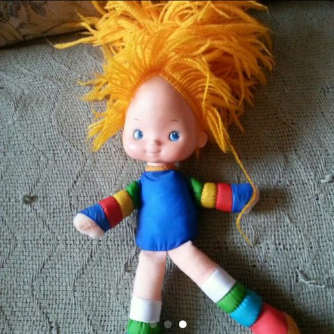 Very Clean Vintage Rainbow Brite Doll. From (View 25 of 25)