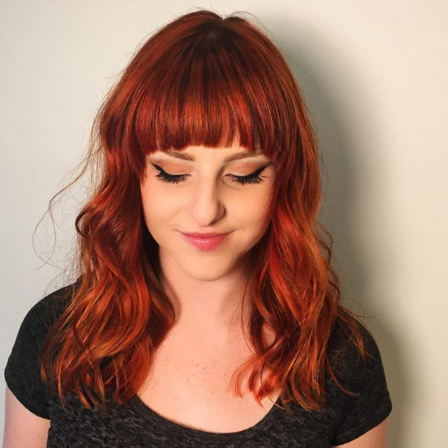 Vibrant Copper Tones | Hair! | Pinterest | Copper Hair, Hair And Inside Vibrant Red Mohawk Updo Hairstyles (View 17 of 25)