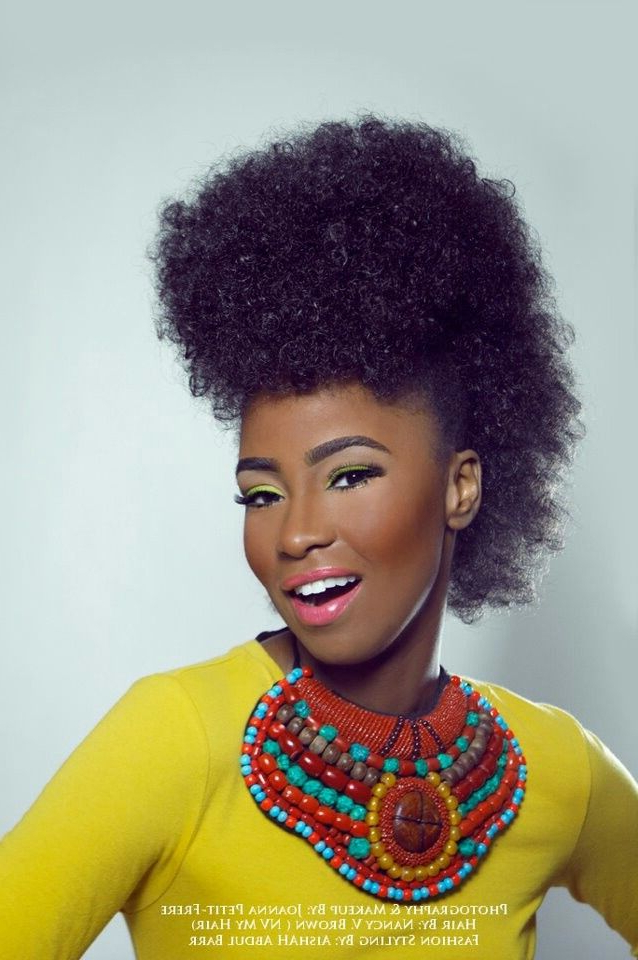Vibrant | Natural Hair | Pinterest Inside Mohawk Hairstyles With Vibrant Hues (View 8 of 25)