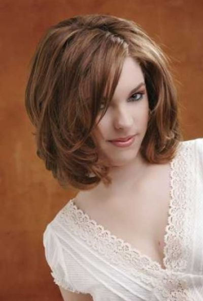 Voluminous Wavy Bob Hairstyle   Hairstyles   Pinterest   Hair Styles Inside Best And Newest Voluminous Wavy Layered Hairstyles With Bangs (View 25 of 25)