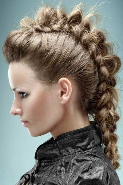 We Are Looking For New Viking Hairstyles Want To Help? | School Pertaining To Vibrant Red Mohawk Updo Hairstyles (View 13 of 25)