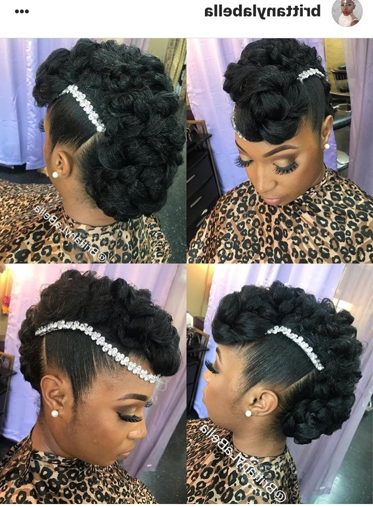 Wedded Bliss Hair | Natural Hair, Don't Care In 2018 | Pinterest With Wedding Day Bliss Faux Hawk Hairstyles (View 25 of 25)