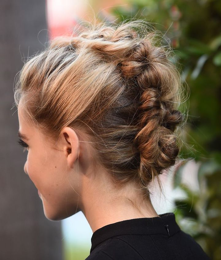 Wedding Inspiration | Bridal Hairstyles | Pinterest | Hair, Hair With French Braid Pinup Faux Hawk Hairstyles (View 8 of 25)