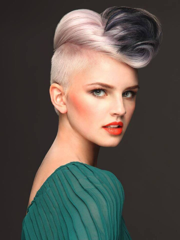 Wella Professionals | Hair | Pinterest | Undercut, Hair Coloring And Throughout Mohawk Hairstyles With Vibrant Hues (View 24 of 25)