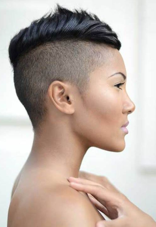 What's Not To Love About It? | Hairy Inspirations | Pinterest Pertaining To Heartbeat Babe Mohawk Hairstyles (View 6 of 25)