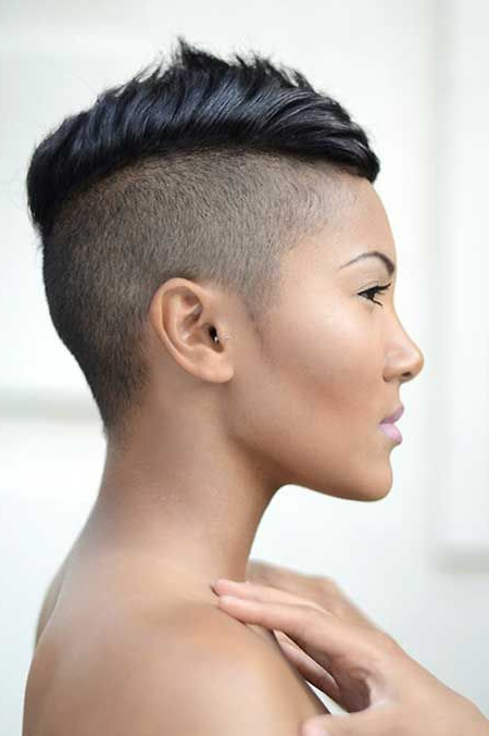 Women's Mohawk Hairstyle! | Short Haircuts | Pinterest | Short Hair Throughout Short Haired Mohawk Hairstyles (View 12 of 25)