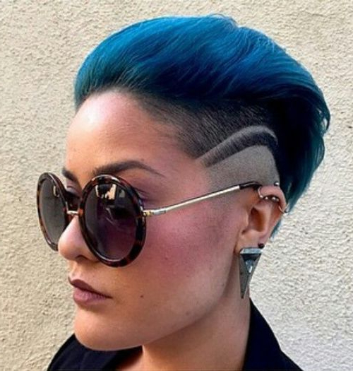 Wonderful Mohawk Hairstyles Of Nowadays That You Will Try With Mohawk Hairstyles With Vibrant Hues (View 3 of 25)