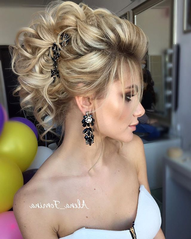 Yes, Yes Yes! I Wish To Wear My Hair Like This | Hairstyles In 2019 Pertaining To Athenian Goddess Faux Hawk Updo Hairstyles (View 3 of 25)