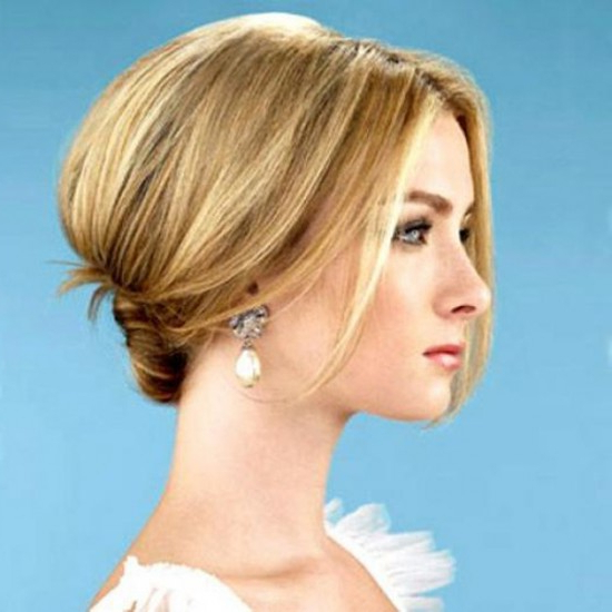 10 Bridal Hairstyle Ideas For Fine Hair – Hair World Magazine With Low Messy Bun Wedding Hairstyles For Fine Hair (View 18 of 25)