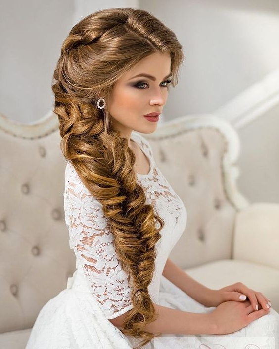 10 Most Amazing Wedding Hairstyles To Look Stunning During Your With Regard To Voluminous Side Wedding Updos (View 24 of 25)
