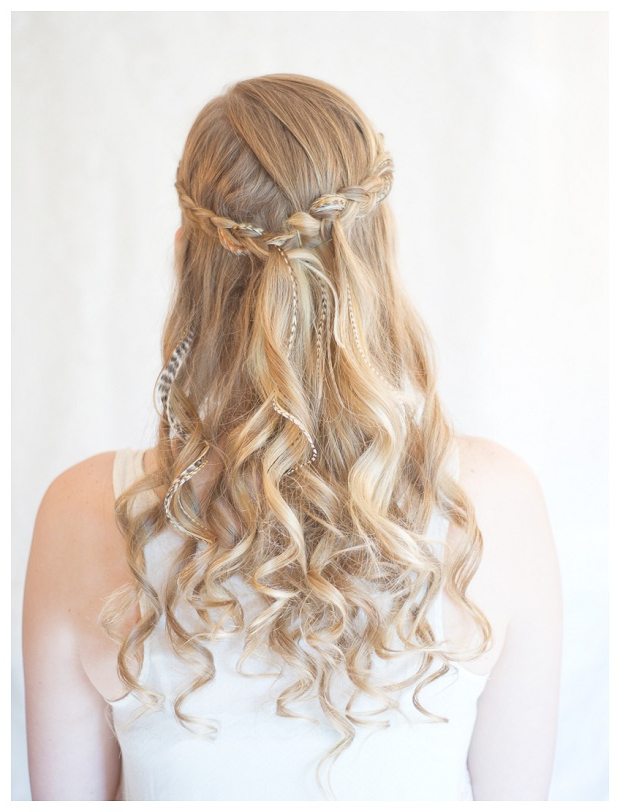 10 Of The Best Half Up Half Down Wedding Hairstyles With Braids With Crisscrossed Half Up Wedding Hairstyles (View 19 of 25)