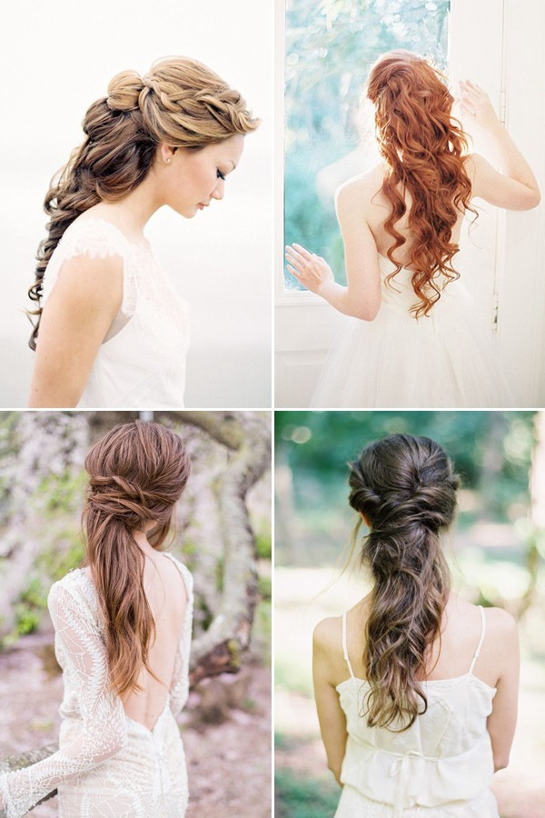 100+ Romantic Long Wedding Hairstyles 2019 – Curls, Half Up, Updos With Half Up Curls Hairstyles For Wedding (View 21 of 25)