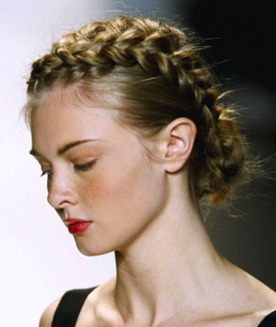 101 Braid Hairstyles For (Endless!) Inspiration Throughout Lifted Curls Updo Hairstyles For Weddings (View 25 of 25)