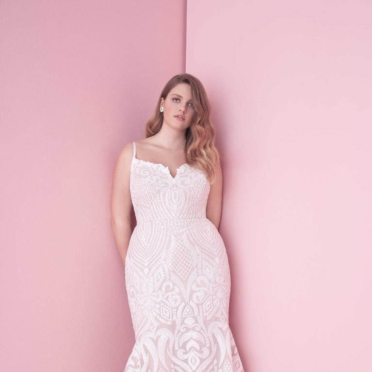 11 Best Wedding Dress Styles For Plus Sizes | Brides With Regard To Sleek And Big Princess Ball Gown Updos For Brides (View 23 of 25)