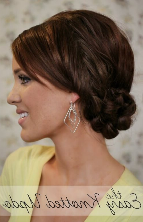 11 Easy Bun Hairstyles To Try (Tending In 2019) Pertaining To Curly Bridal Bun Hairstyles With Veil (View 23 of 25)