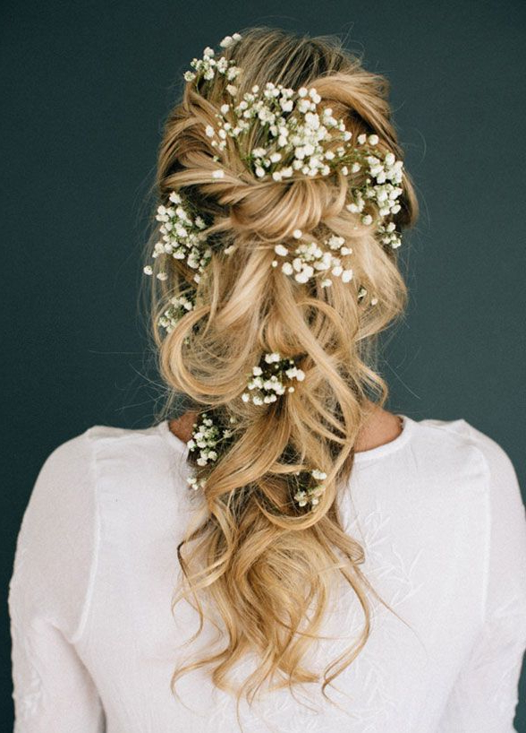 11 Effortlessly Romantic Wedding Hairstyles #2656409 – Weddbook For Romantic Bridal Hairstyles For Natural Hair (View 19 of 25)