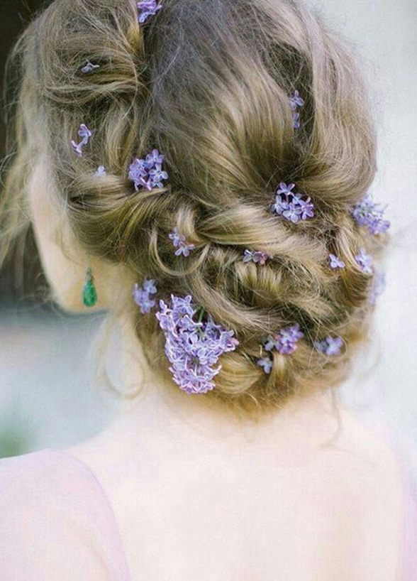 11 Effortlessly Romantic Wedding Hairstyles – Wilkie For Braided Lavender Bridal Hairstyles (View 21 of 25)