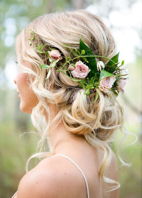 11 Effortlessly Romantic Wedding Hairstyles – Wilkie In Half Up Wedding Hairstyles With Jeweled Clip (View 18 of 25)