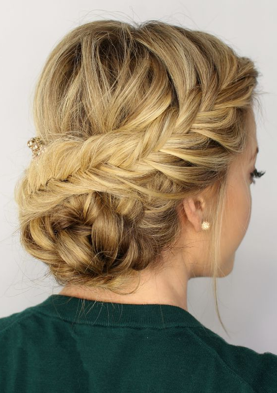 15 Beautiful Wedding Updo Hairstyles | Styles Weekly Intended For Infinity Wedding Updos (View 3 of 25)
