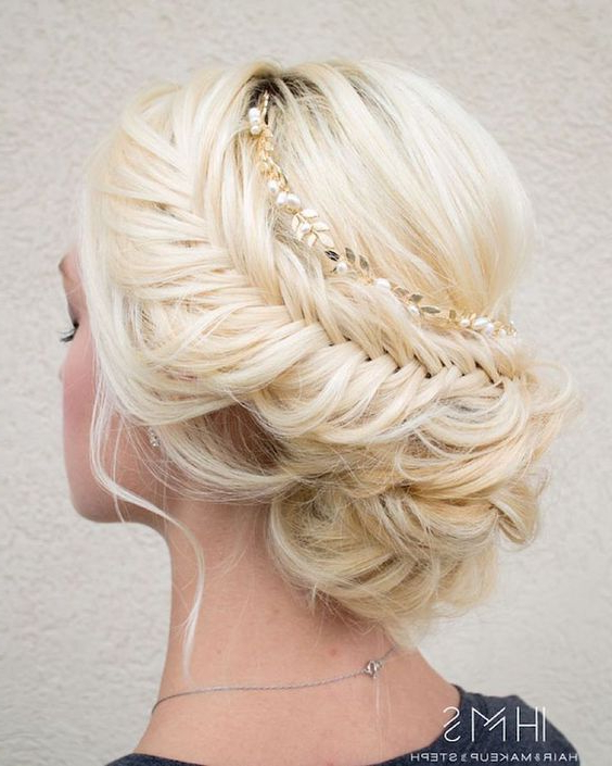 15 Beautiful Wedding Updo Hairstyles | Styles Weekly Throughout Infinity Wedding Updos (View 4 of 25)