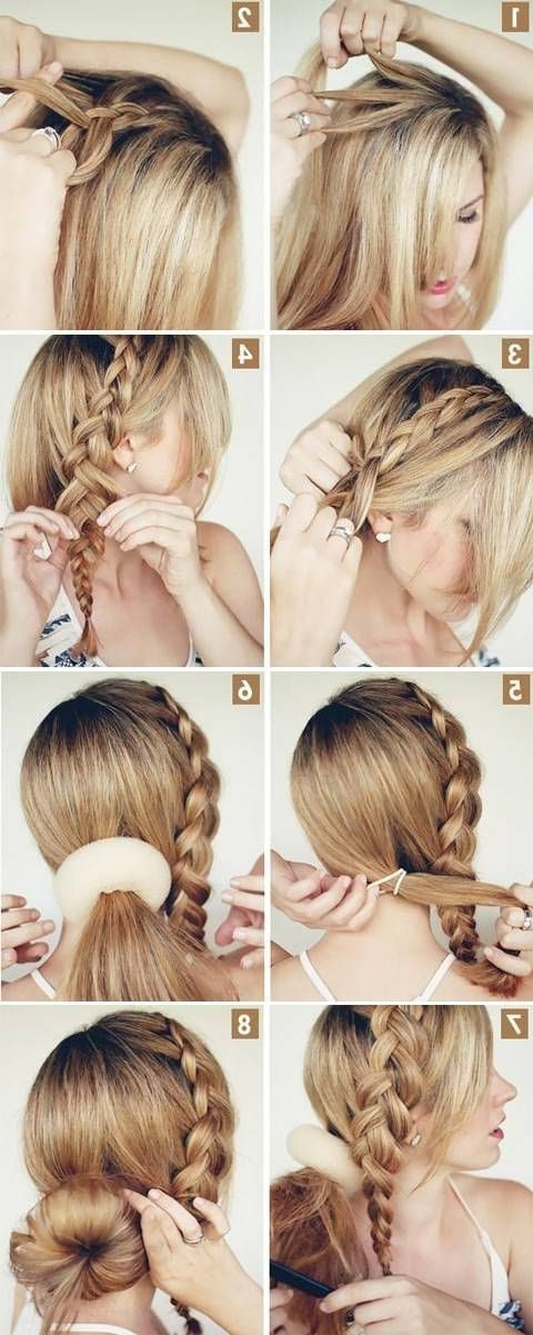 15 Cute Hairstyles: Step By Step Hairstyles For Long Hair – Popular Intended For Lovely Bouffant Updo Hairstyles For Long Hair (View 23 of 25)