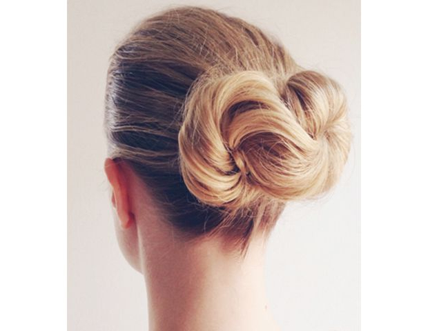 15 Gorgeous Wedding Updos That Are Actually Cool | Byrdie Au In Infinity Wedding Updos (View 2 of 25)
