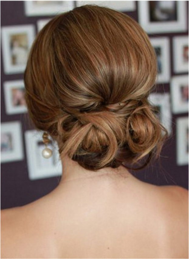 15 Pretty Low Bun Hairstyles For Summer – Pretty Designs For Twisted Low Bun Hairstyles For Wedding (View 13 of 25)