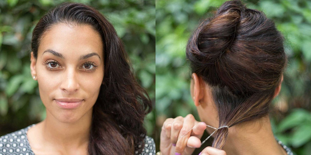 15 Super Easy Hairstyles For 2018 – Three Step Hairstyles For Girls With Regard To Destructed Messy Curly Bun Hairstyles For Wedding (View 15 of 25)