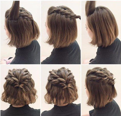 15 Ways To Style Your Lobs (Long Bob Hairstyle Ideas) – Pretty Designs For Fancy Chignon Wedding Hairstyles For Lob Length Hair (View 18 of 25)