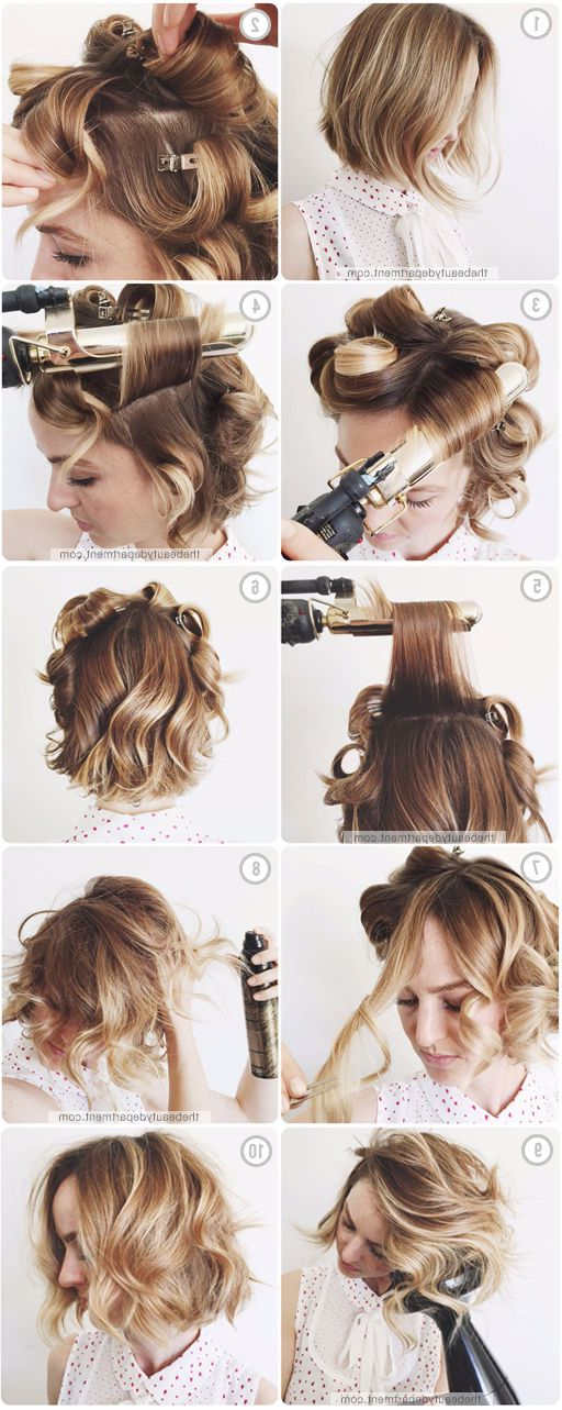 15 Ways To Style Your Lobs (Long Bob Hairstyle Ideas) – Pretty Designs Inside Fancy Chignon Wedding Hairstyles For Lob Length Hair (View 21 of 25)