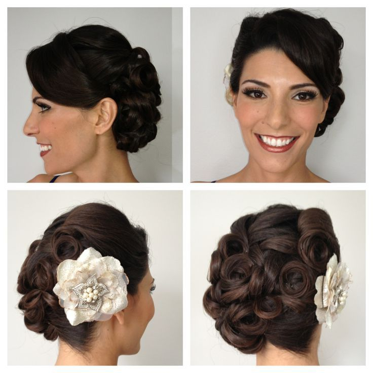 16 Pin Up Hairstyles For Weddings | Hairstyles Ideas In Pin Up Curl Hairstyles For Bridal Hair (View 8 of 25)